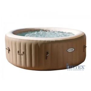 Бассейн-джакузи INTEX Pure Spa Bubble Massage 196 х 71 см.